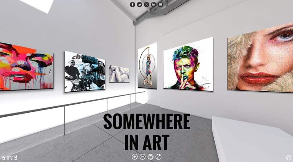 visite virtuelle à partir de fichiers 3D