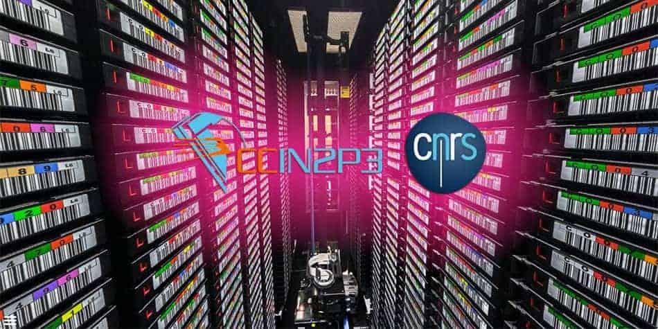 Visite virtuelle du Centre de Calcul de l'Institut National de physique Nucléaire et de physique des particules (CNRS)