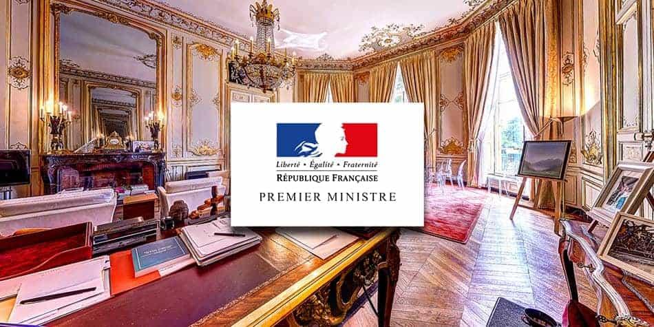 visite virtuelle - bureau du premier ministre - matignon