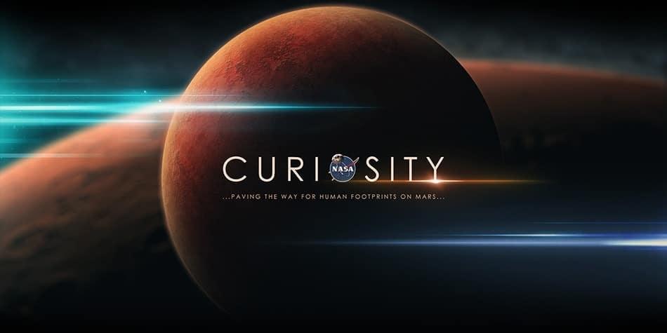 visite virtuelle de Mars par Curiosity