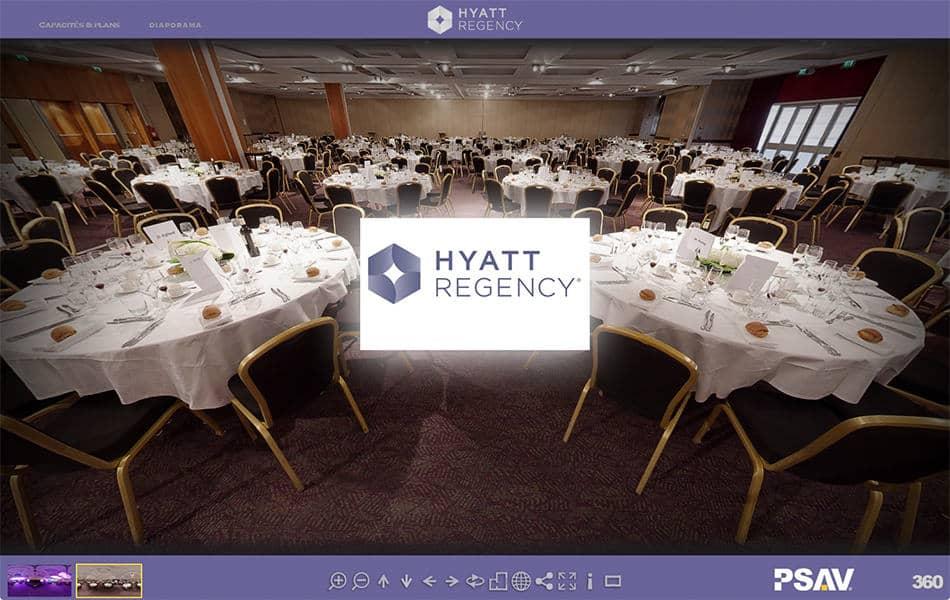 visite virtuelle hotel hyatt