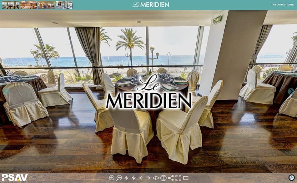 visite virtuelle hotel meridien nice
