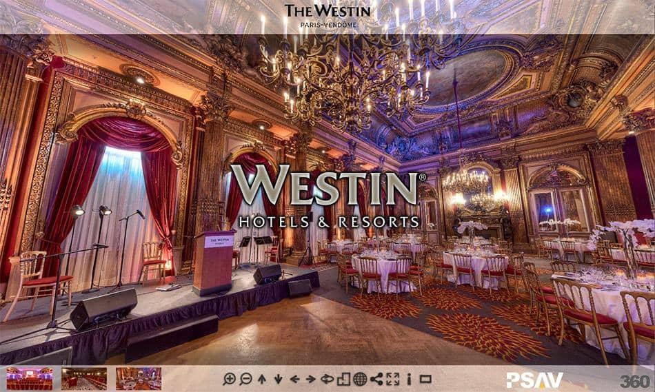 visite virtuelle hotel westin