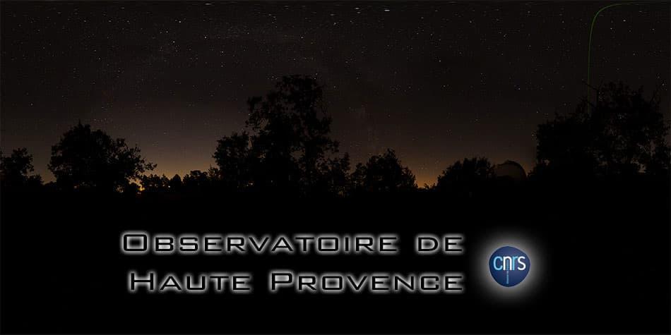visite virtuelle de l'Observatoire de Haute Provence