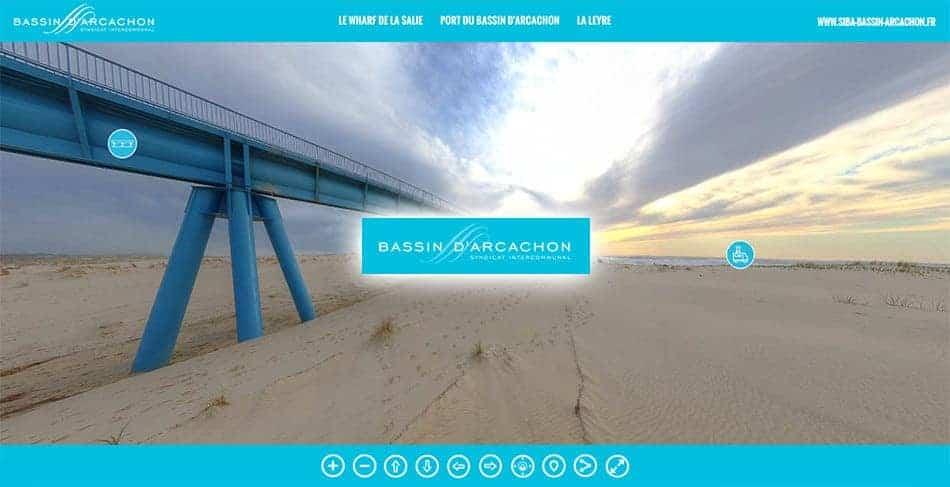 visite virtuelle du SIBA d'arcachon