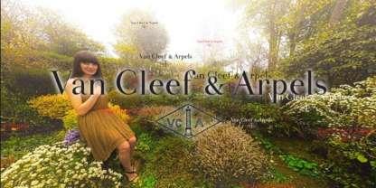 Visite virtuelle réseaux sociaux Van Cleef and Arpels