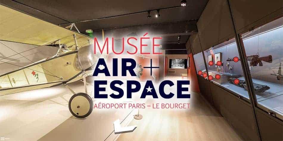 visite virtuelle musée de l'air et de l'espace Verdun la guerre aérienne