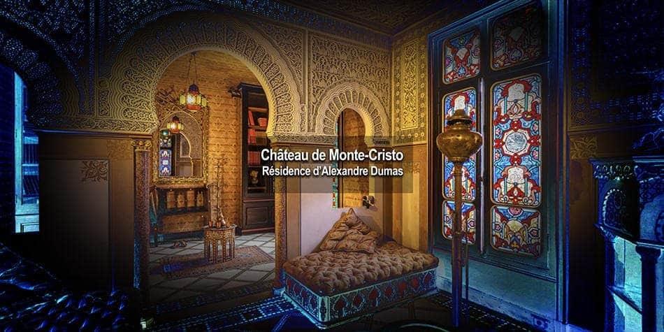 Visite virtuelle du Chateau de Monte Cristo - résidence d'Alexandre Dumas