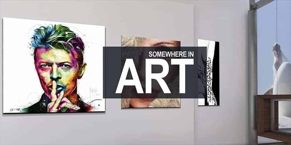 visite virtuelle somewhere in art