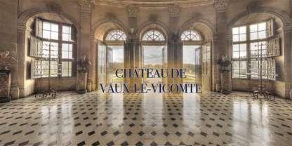 Photographie 360 gigapixel du chateau de Vaux le Vicomte