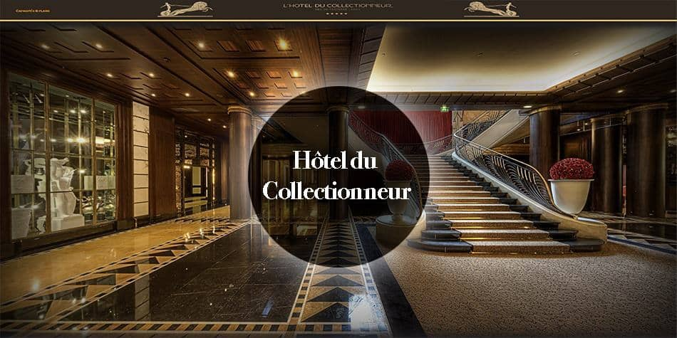 virtual tour luxe hotel Paris