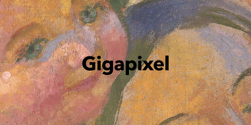 Photographie gigapixel tableau Maurice Denis