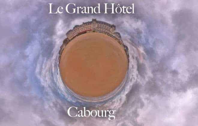 visite virtuelle du grand hotel de Cabourg