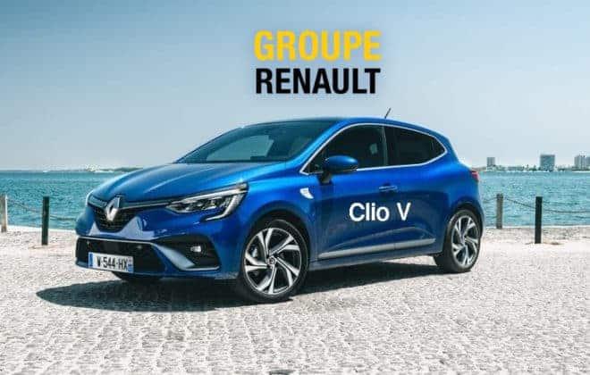 virtual tour Renault Clio 5