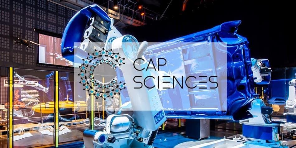 Expo Robots Cap Sciences VR 360