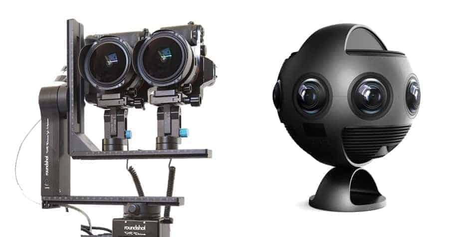 Dispositif de prise de vue stéréoscopique à 360°