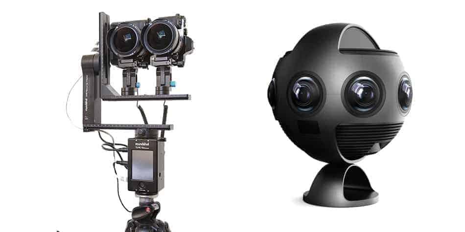 dispositif de prise de vue stéréoscopique en 360