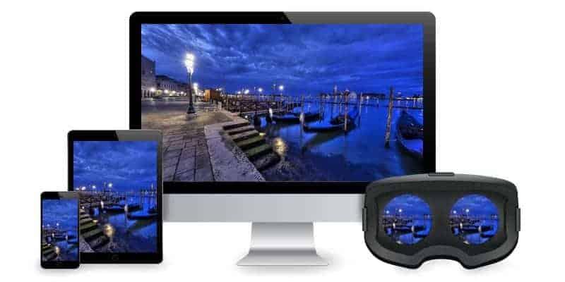 Visite virtuelle interactive