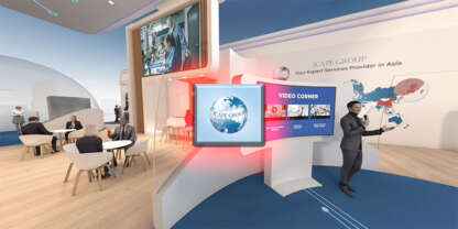 visite virtuelle virtual booth Icape Group