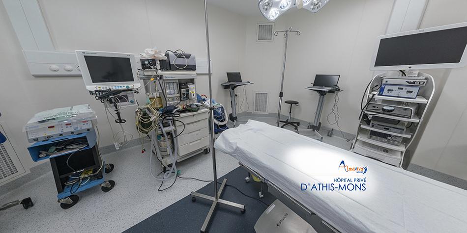 visite virtuelle hôpital